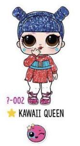 LOL Surprise Under Wraps - COLOUR CHANGE Kawaii Queen