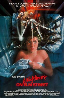 A Nightmare on Elm Street 1984 Freddie Krueger Movie Poster (Multiple Sizes)