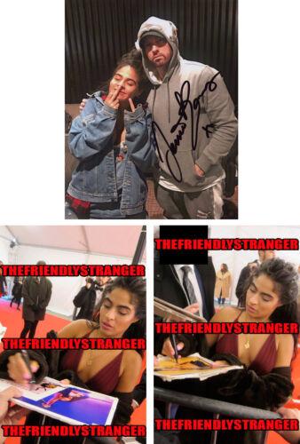 """JESSIE REYEZ signed Autographed """"EMINEM"""" 8X10 PHOTO h PROOF - Good Nice Guy COA"""