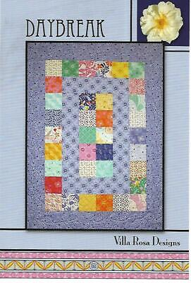 Daybreak quilt kit 2 yards of fabric + charm pack pictured 39