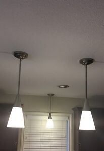 3+ 6 roof  pendent lights