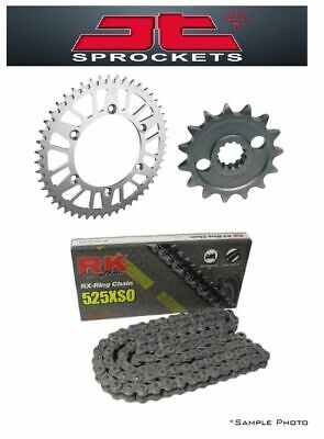 Suzuki DR650 96-13 JT and RK 525XSO 15/42 X-ring Chain and Sprocket Kit