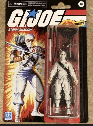 Joe Retro Collection Storm Shadow Figure On Hand Hasbro G.I