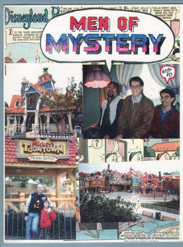 MEN OF MYSTERY #76 comic fanzine BOB BURDEN Flaming Carrot CAPA-Alpha GELB 1993