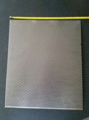 18 Holes 18 Gauge 304 Stainless Steel Perforated Sheet Approx 12 X 10