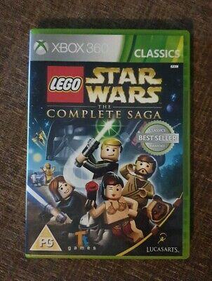 LEGO Star Wars: The Complete Saga -- Classics (Microsoft Xbox 360, 2013)