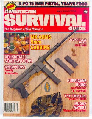 AMERICAN SURVIVAL GUIDE MAGAZINE PDF COLLECTION FREE SHIPPING