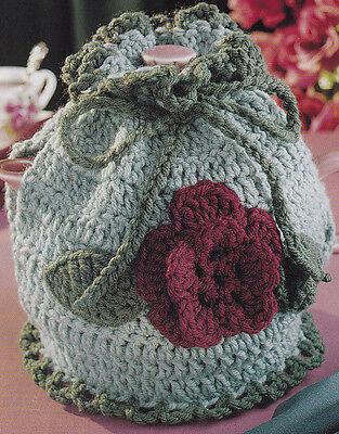 Crochet Pattern ~ ROSE TEA COZY Teapot ~ Instructions
