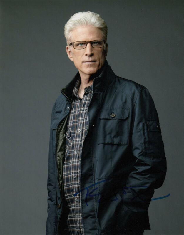 TED DANSON AUTHENTIC SIGNAUTRE SIGNED NCIS 10X8 PHOTO AFTAL & UACC [12510]
