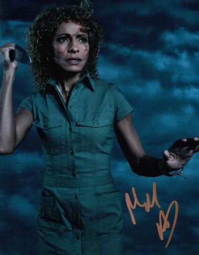 Michelle Hurd signed Blindspot 10x8 photo AFTAL & UACC [16446] Signing Details