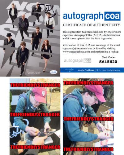 "JESSE EISENBERG signed Autographed ""NOW YOU SEE ME"" 8X10 PHOTO - PROOF - ACOA"