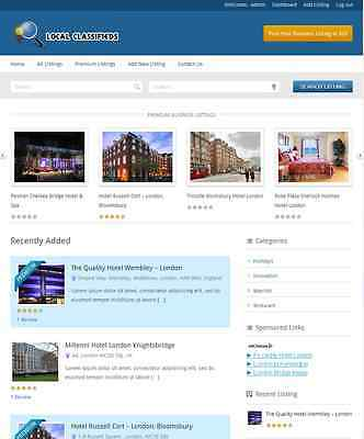 Professional Classifieds Website With Review System Free Hosting
