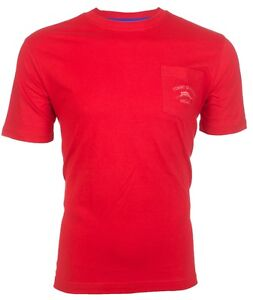 Tommy Bahama Mens T Shirt Bali High Tide Pocket Relax Red