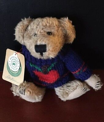 Boyds Bears Archive Collection Dexter *ORIGINAL TAGS* Navy Sweater Retired