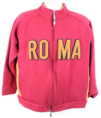 ROMA Womens Red Knit Full Zip Long Sleeve Jacket Size X-Large