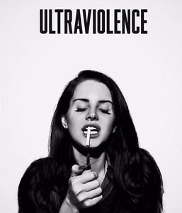 Lana Del Rey Music Star Silk Cloth Poster 16 x 13