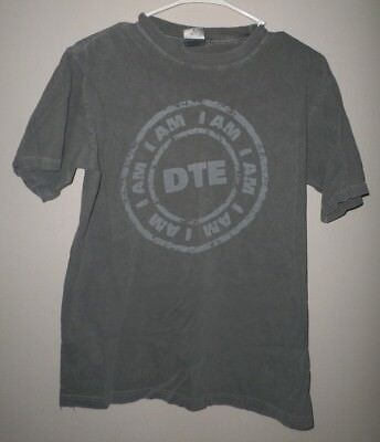 Dte Energy Company Small T Shirt Detroit Edison Tee Michigan Electric Utility