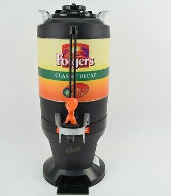 Curtis Folgers Thermal Coffee Dispenser Server