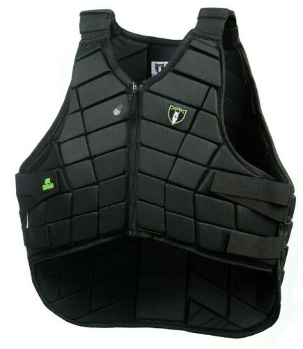 Tipperary Competitor II Equestrian Vest - Black Micro Mesh - 1038 (Var. Sizes)