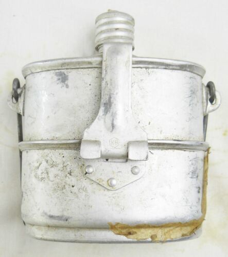 Russian Airborne Flask Soviet Army Canteen Set USSR Kettle Stove 3 Piece Grease 1