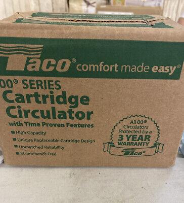 Taco 007-f5 Hot Water Circulator Pump125 Hp Nib