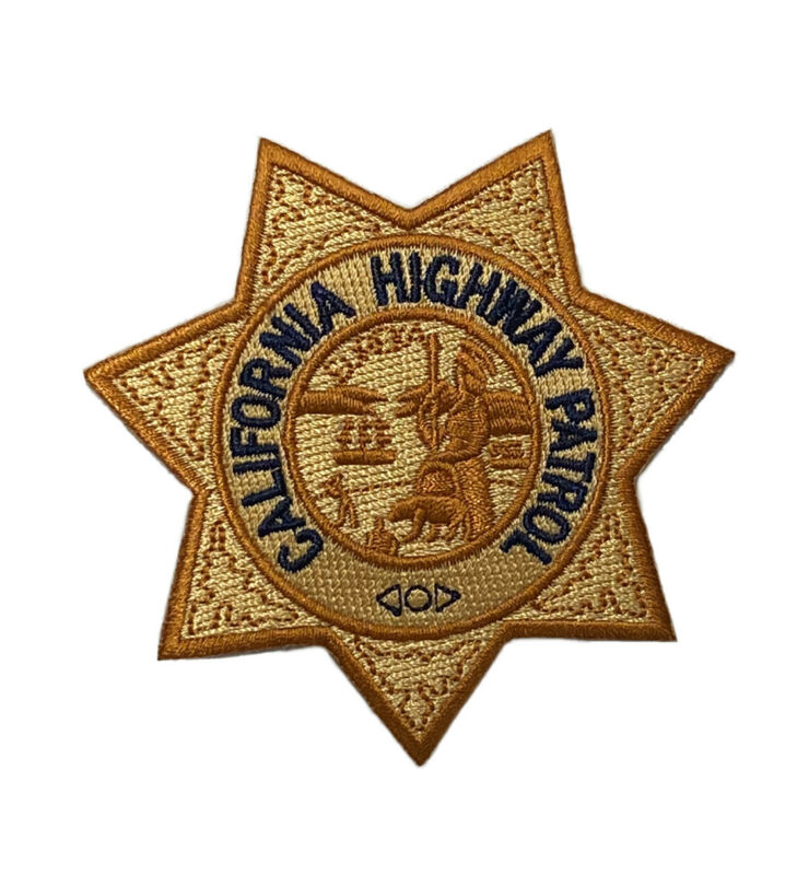 California Highway Patrol CHP Police Patch New