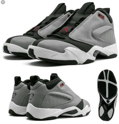Jordan AH8109-006 Men's Gray Jumpman Quick 23 Sneakers
