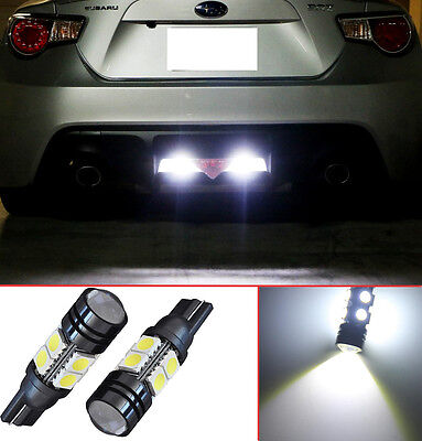 Projector LED Reverse Light Bulbs T15 912 921 906 for Nissan Altima (2 pcs)
