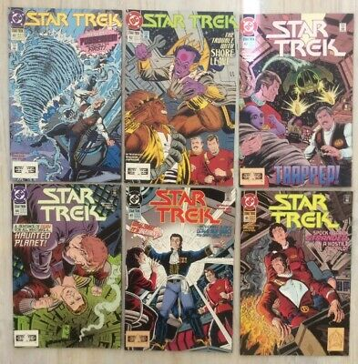 Star Trek The Original Series DC Comics 1993 Issue Numbers 41 - 46 VG Condition