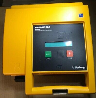 Physio-control Lifepak 500 Biphasic External - Unit Only
