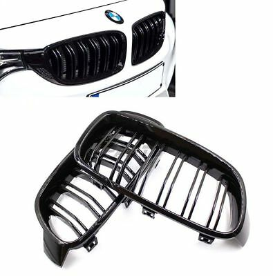 BMW Gloss Black Front Kidney Grille for F30/F31 328i 335i Sedan/Wagon 2012-2016
