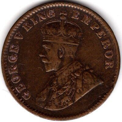 1912 British India George V One Quarter Anna | Pennies2Pounds segunda mano  Embacar hacia Spain