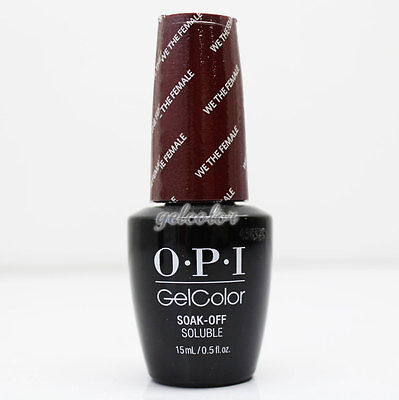 - OPI GelColor Washington DC Gel Nail Polish 15ml 0.5 fl oz We the Female #GCW64