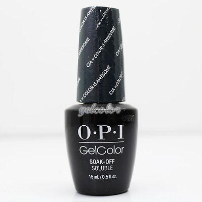 - OPI GelColor Washington DC Gel Nail Polish 0.5oz CIA = Color Is Awesome #GCW53