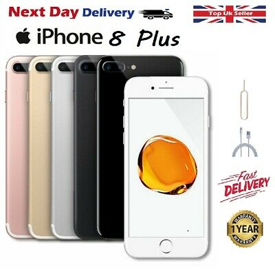 Apple iPhone 8 PLUS - 64GB  - Factory Unlocked Smartphone 12M WARRANTY