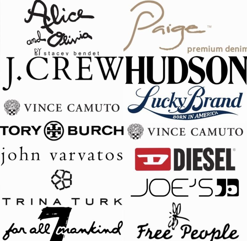 $1400 MSRP Wholesale Lot Resale Womens Mens Designer Clothing Jeans Shirt NEW