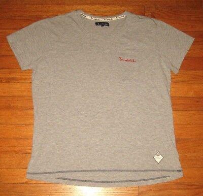 BONDELID Front Pocket T-Shirt, Men's LARGE, Gray Qual' Designer Tee Embroidered
