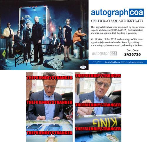 "BRYAN CRANSTON signed Autographed ""BREAKING BAD"" 11X14 PHOTO a PROOF - ACOA COA"
