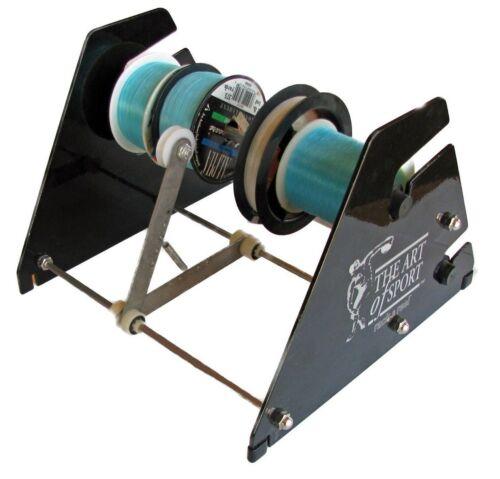 Fishing Line Winder Spooler, Rack and Reel, Line loader, Spool holder, dispenser