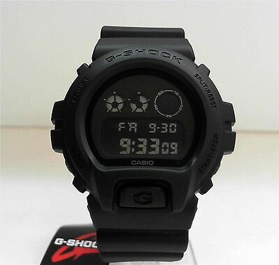 New Casio G-Shock Matte Black Watch DW-6900BB-1
