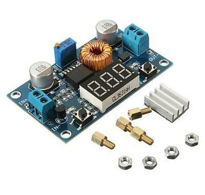 Xl4015 5a Dc Buck Step-down Adjustable Voltage Power Converter Led Volt Display
