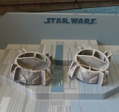 STAR WARS MODERN VEHICLE PART 30TH ANNIVERSARY Y WING FIGHTER REAR ENGINE COVERS