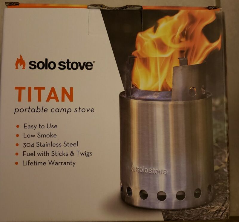 TITAN by Solo Stove Camping Stove