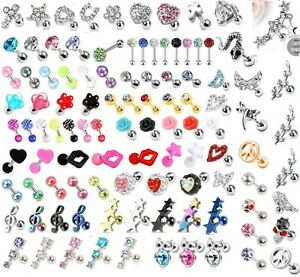 New-Gem-Tragus-Bar-Helix-Cartilage-Upper-Ear-Piercing-Earring-Labret-Crystal-2