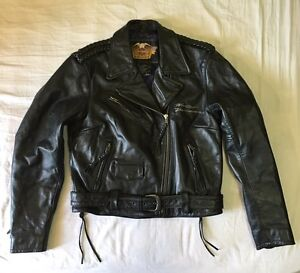 Harley Davidson Leather Jacket Women size Medium Haymarket Inner Sydney Preview
