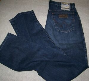 WRANGLER-Jeans-Texas-Stone-Blue-Equitazione-W32-L34