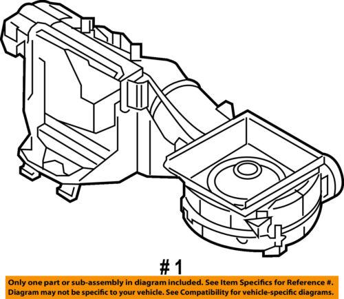 Vw Volkswagen Oem 17 18 E Golf Ac Ac Evaporator Core Case