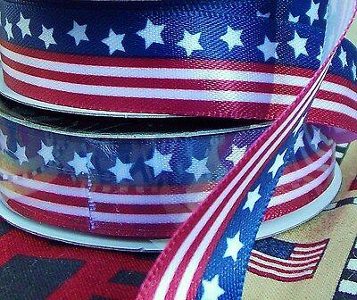 Flag Ribbon (LOT 2.5-Yds 5/8
