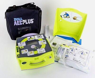 Zoll Aed Plus Semi Automatic Brand New Pads Batteries Spanish Language Espanol