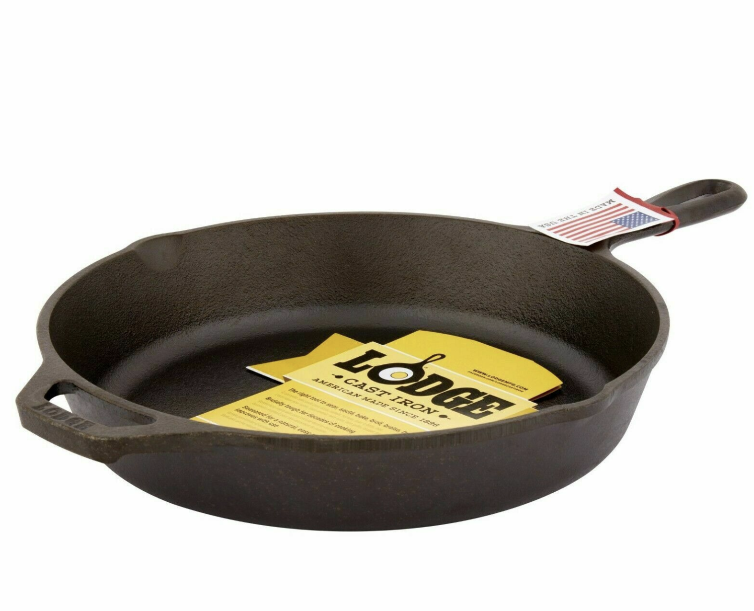 "Lodge 10.25"" Skillet With Assist Handle L8SK3, 1 ea"
